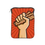 fist_full_of_bacon_ipad_sleeve